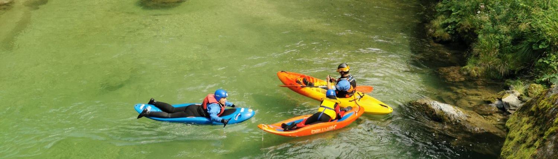 Bellyak challenge, Water experience in Savinja river, Explore Slovenia