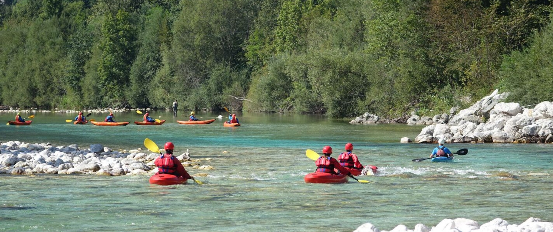 Explore Slovenia, Rafting and Kayaking in Soča