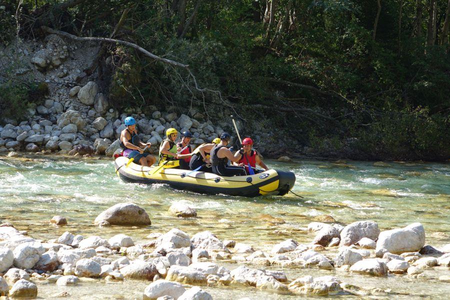 Rafting in Soča, Explore Slovenia