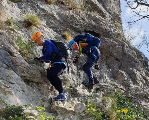 Climbing with Explore Slovenia