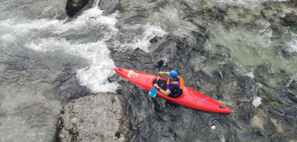 Water experience in Savinja river, Explore Slovenia