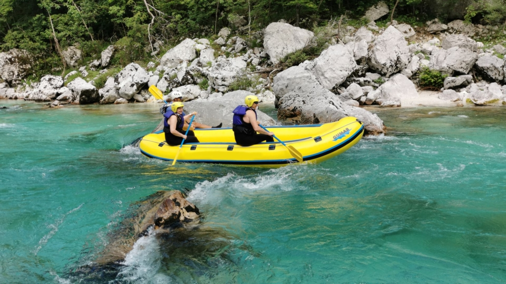 Total active disconnection in the Soča Valley