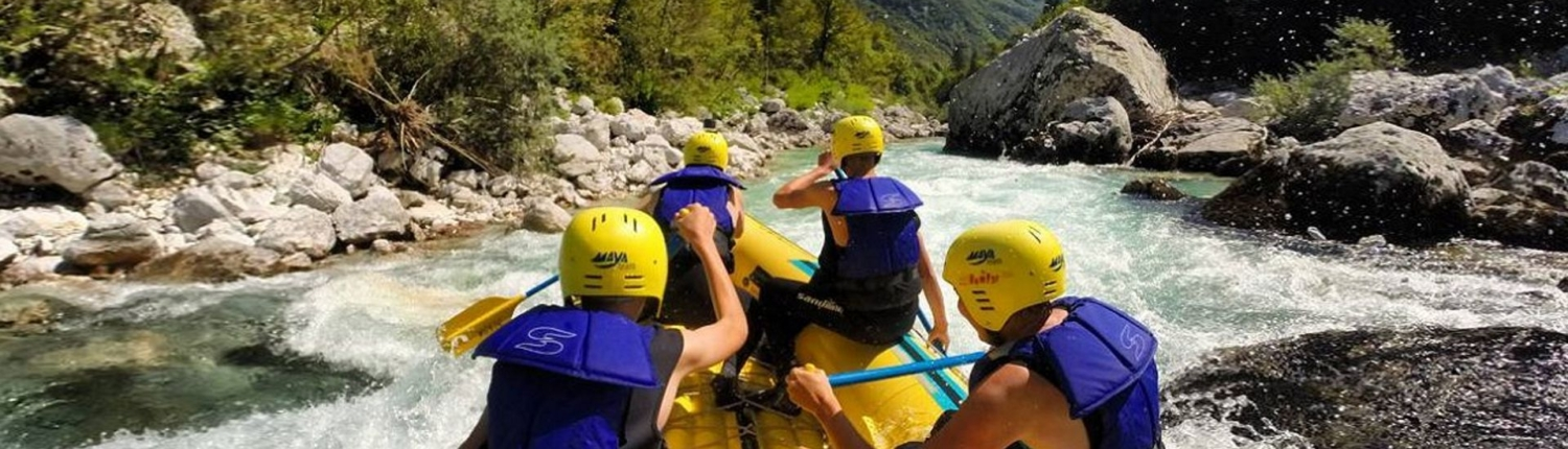 Holidays experience in the Soča-Valley