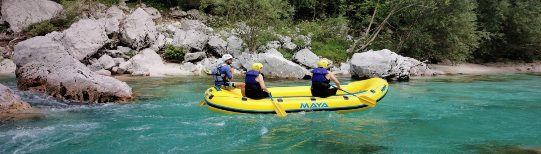 Adrenaline Soča rafting adventure