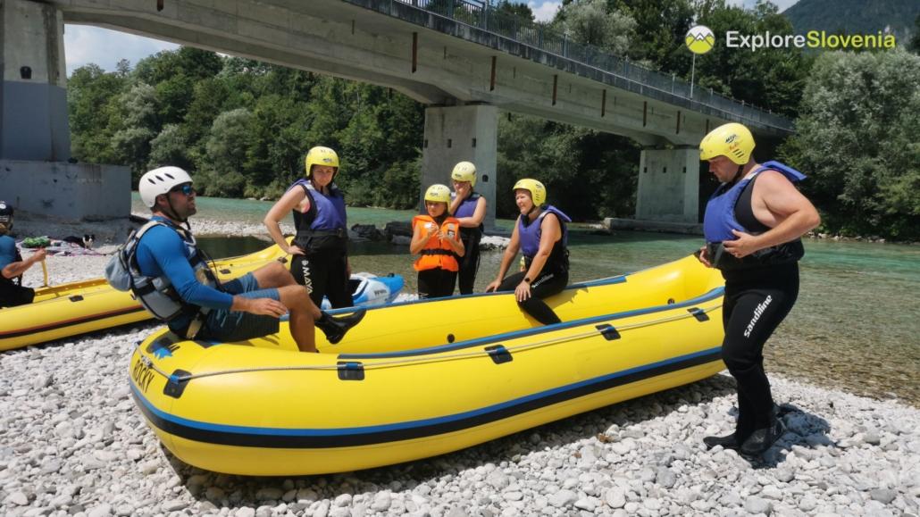 Easy Family raftin in Soča - Explore Slovenia